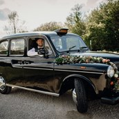 Hochzeitsauto - Original Londontaxi, Black Cab, Wedding Cab