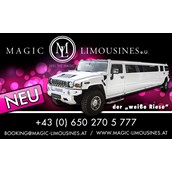 Hochzeitsauto - HUMMER Limousinevon Magic Limousines
