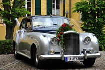 Hochzeitsauto - Bentley S2 von Special Cars for Special Moments