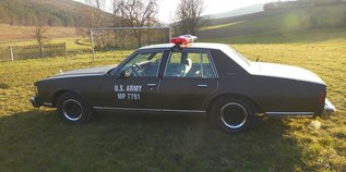 Hochzeitsauto-Vermietung - Franken - Chevy Caprice  Military Police Car von bluesmobile4you