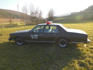 Hochzeitsauto-Vermietung - US-Car - Chevy Caprice Military Police Car von bluesmobile4you - Chevy Caprice  Military Police Car von bluesmobile4you