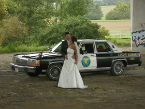 Hochzeitsauto-Vermietung - US-Car - Hochzeitsauto Ford Crown Victoria 1990 Cook County Police Car - Ford Crown Viktoria von bluesmobile4you