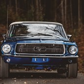 Hochzeitsauto - yellowhummer Ford Mustang Oldtimer