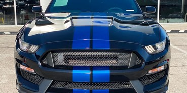 Hochzeitsauto-Vermietung - Marke: Ford - Ford Mustang Shelby GT 350 5.2V8   6 Gang Schalter