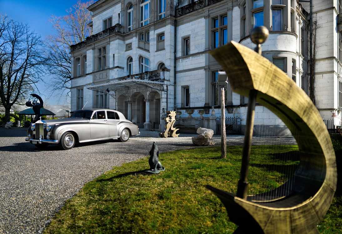 Hochzeitsauto: Take me to the moon and stars, James. - Rolls-Royce Silver Cloud II Jg. 1960