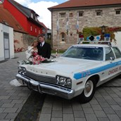 Hochzeitsauto - Dodge Monaco Chicago Police Car von bluesmobile4you