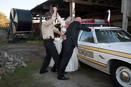 Hochzeitsauto - Dodge Monaco Illinois State Police Car von bluesmobile4you