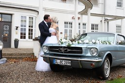 Hochzeitsauto - Ford Mustang 1965