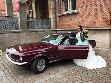 Hochzeitsauto: Ford Mustang 1967